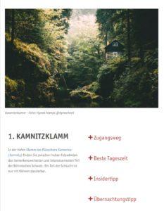 Böhmische Schweiz Foto-Spots