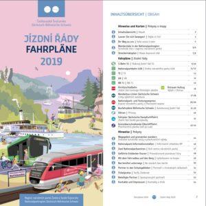 touristischer Fahrplan 2019